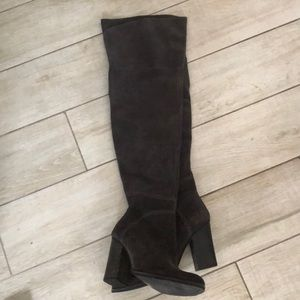 Dolce Vita thigh high suede boots